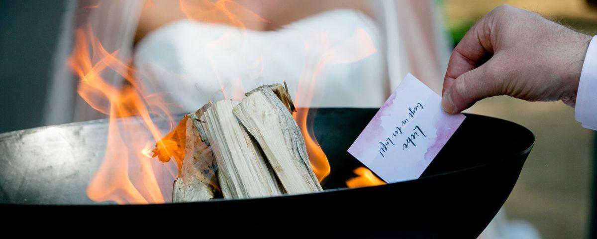 Freie Trauung - Feuer-Ritual
