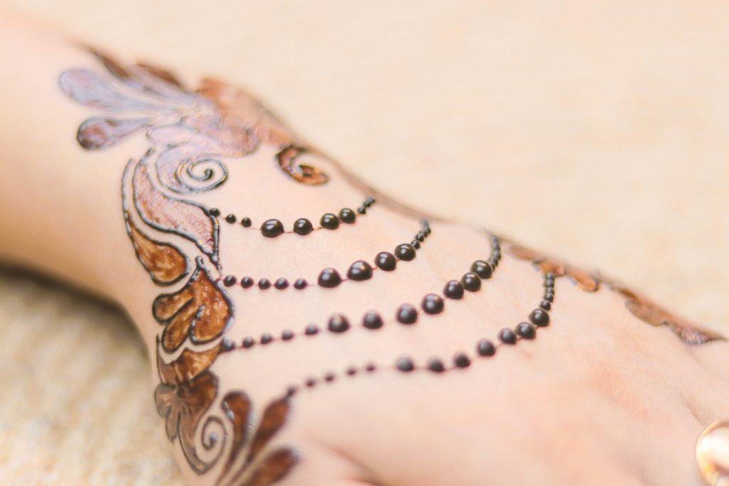 Hochzeitsrituale - Henna Tattoos